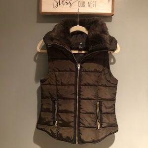 H & M padded vest